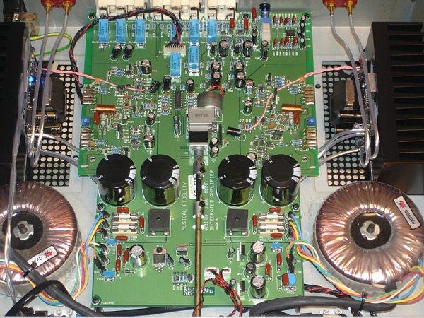 Musical Fidelity A3 Mono Dual VS Primare i21 Mfa32